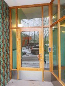 Portarna återställda till hur de såg ut 1955.