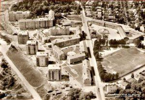 Flygbild. Översiktsbild 1955.